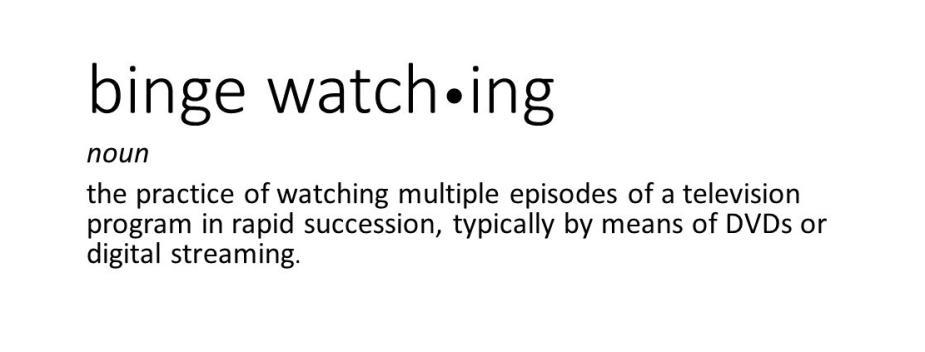 Binge watching definition