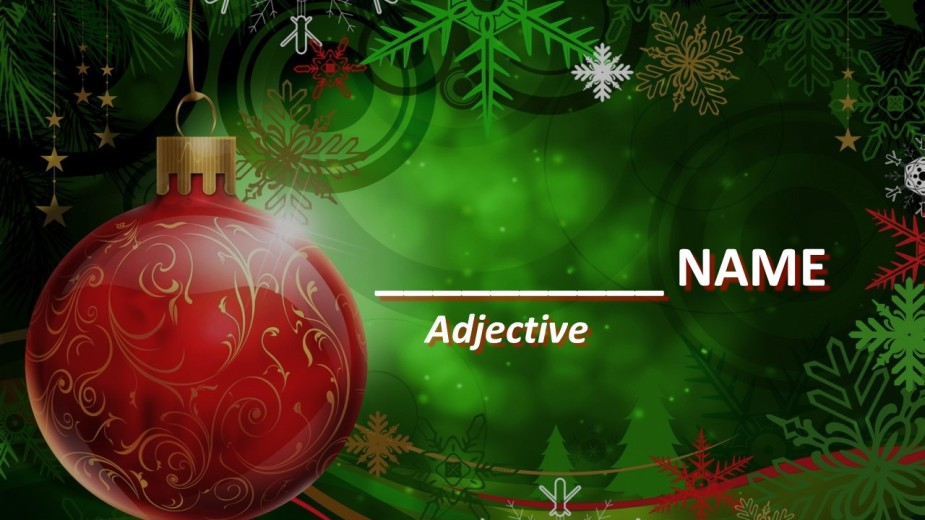 Adjective Name