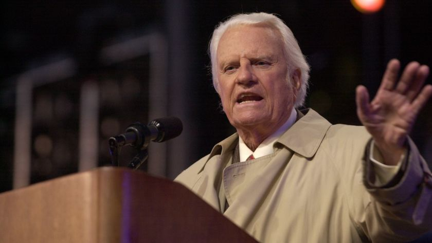 Billy Graham from San Diego Tribune